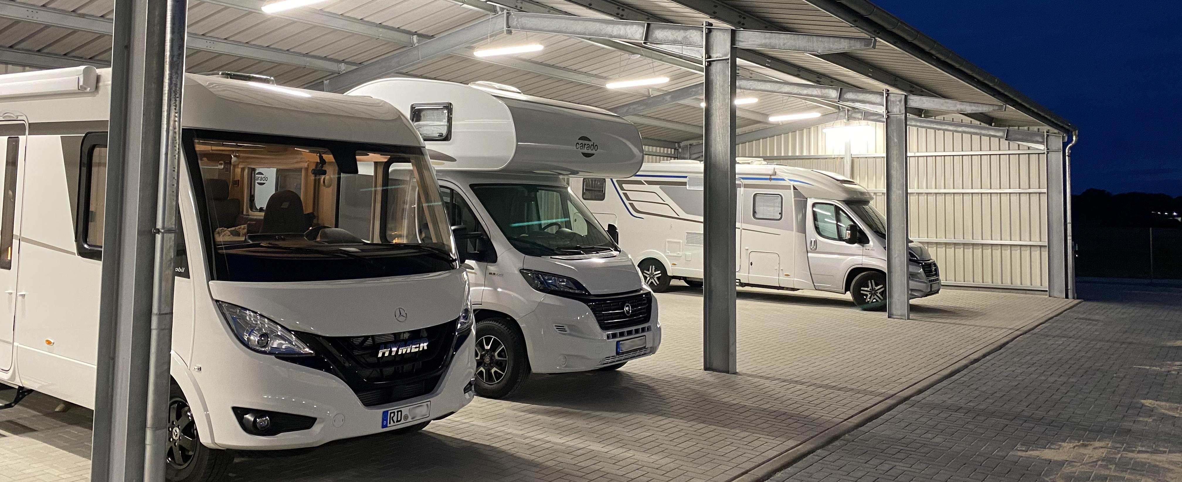 Camperport - Unterstellplatz und Garage für Ihr Wohnmobil in